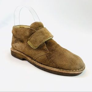 Naturino Girls suede ankle booties size 1 US 32 EU